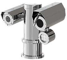 Explosion Proof Dual PTZ CCTV Camera Station