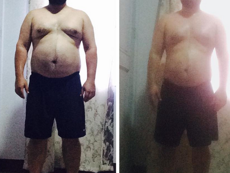 Inspired by His Daughter, Read How Jose Lost 19 lbs Doing Push ups and Running
