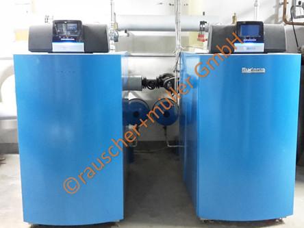 Industrie Großanlage 1000 kW Gasbrennwert