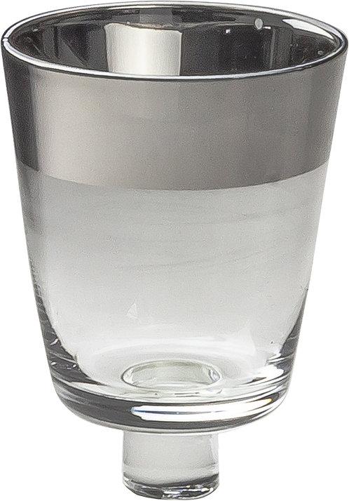 Glasaufsatz mit Platinrand