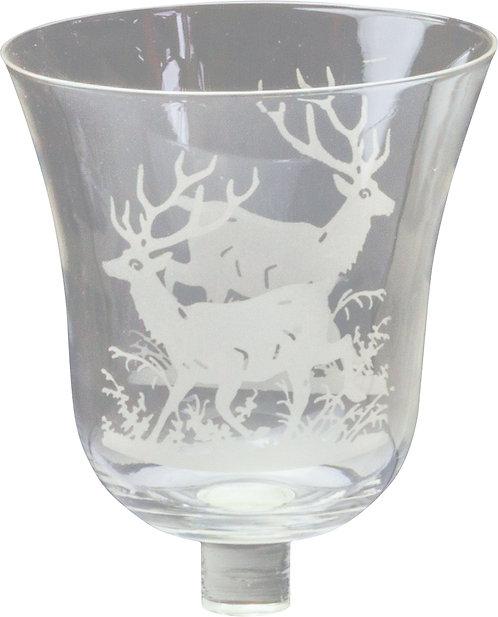 Glasaufsatz Hirsch