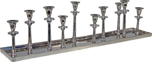 Kerzenständer 10er antik-silber