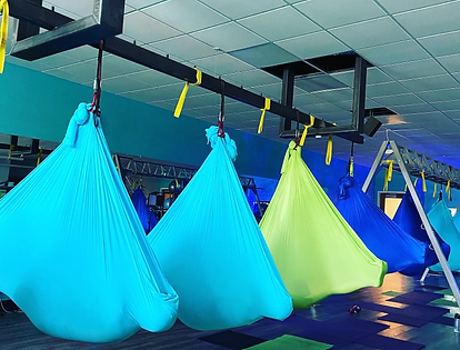 Aerial Yoga, Meditation, Group Fitness