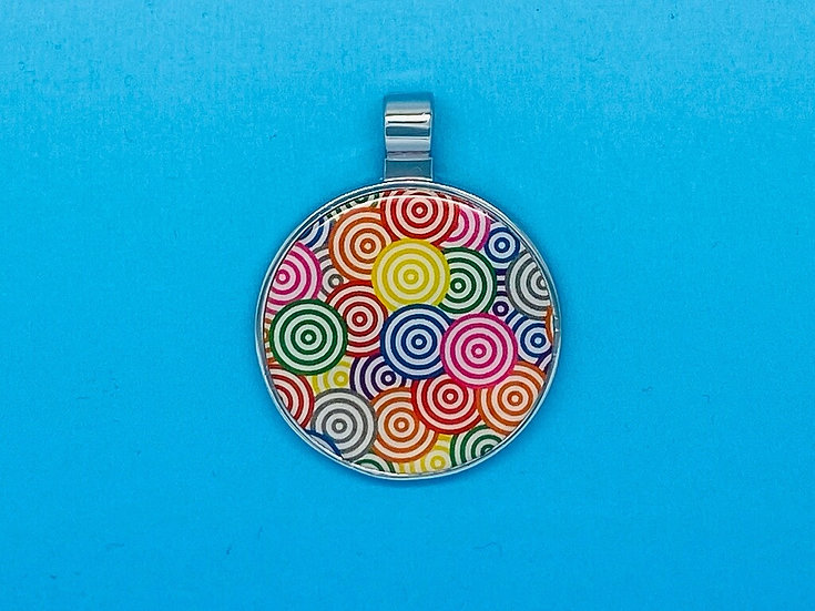 RED DOT Pet Tags - Coloured Swirl