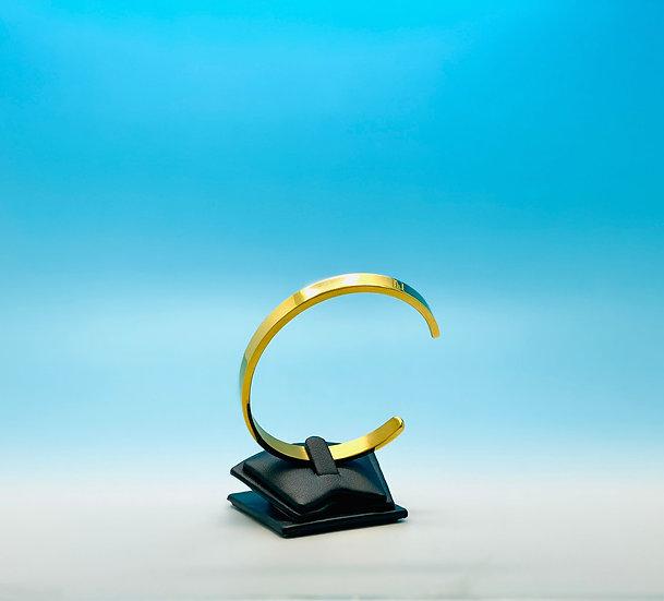 Stainless Steel - Cuff Bracelet - Gold (6mm)