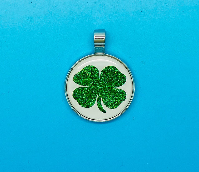 RED DOT Pet Tags - Four-leaf clover