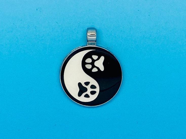 RED DOT Pet Tags - Yin Yang