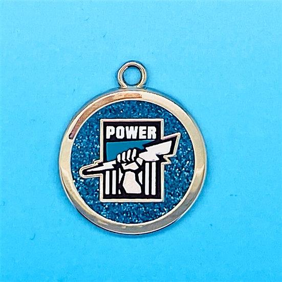 AFL Pet Tag - Port Adelaide Power