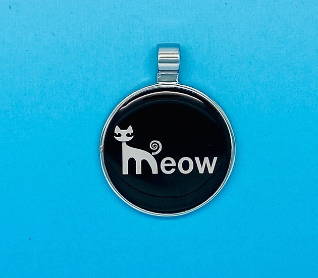 RED DOT Pet Tags - Meow