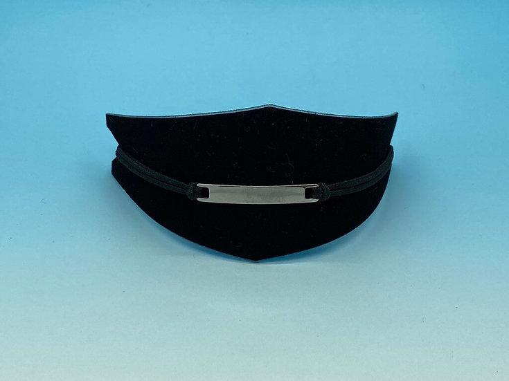 Mens Steel - Bracelet (Rubber String) - Small Size