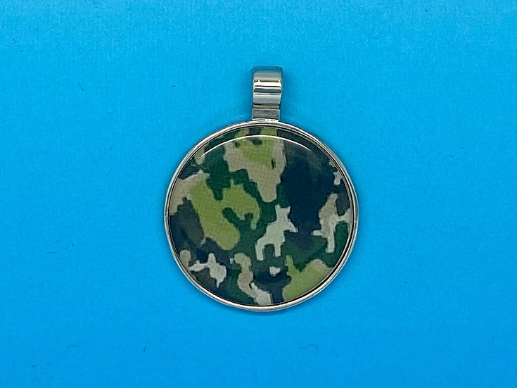 RED DOT Pet Tags - Camouflage