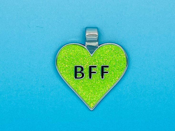 RED DOT Pet Tags - BFF Heart