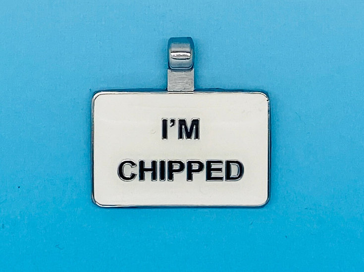 RED DOT Pet Tags - I'm Chipped