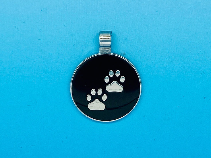 RED DOT Pet Tags - Double Paw