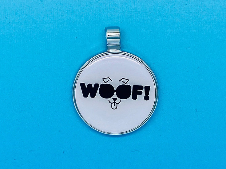 RED DOT Pet Tags - WOOF