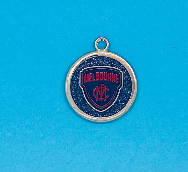 AFL Pet Tag - Melbourne Demons
