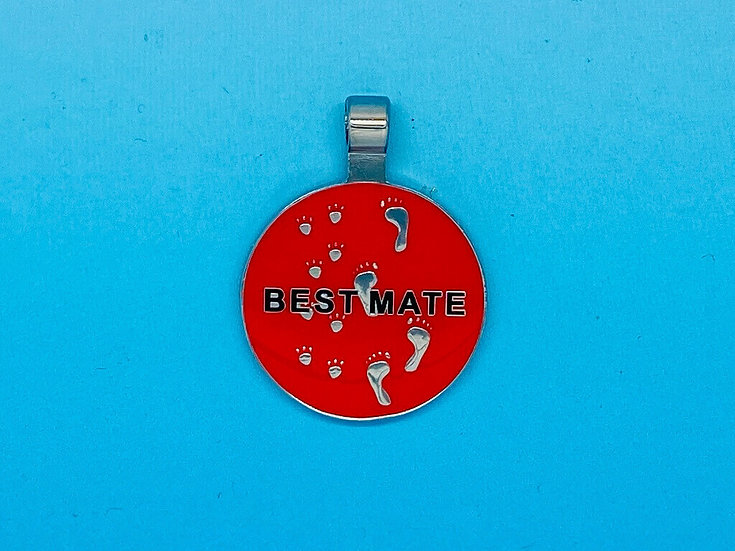 RED DOT Pet Tags - Best Mate
