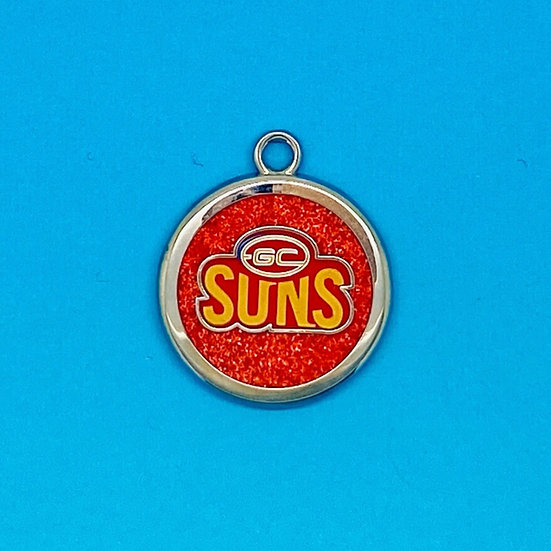 AFL Pet Tag - Gold Coast Suns