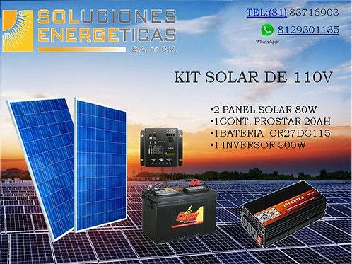 KIT SOLAR 110V