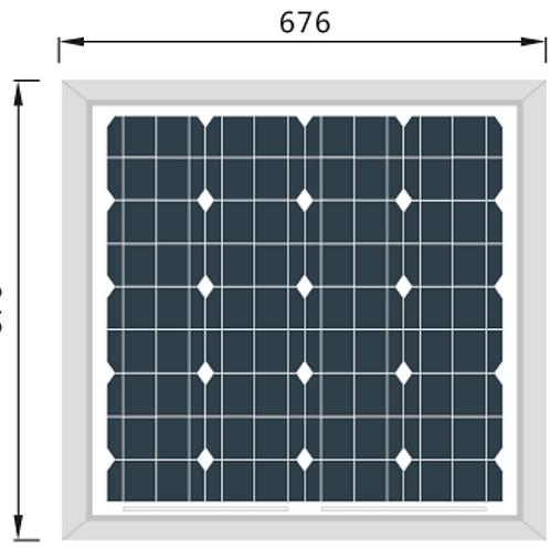 Panel Solar Perlight 60w