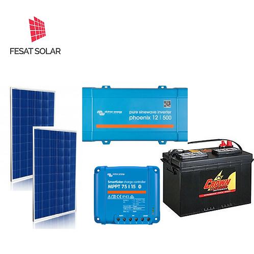 Kit Solar Mediano 110VAC 500W