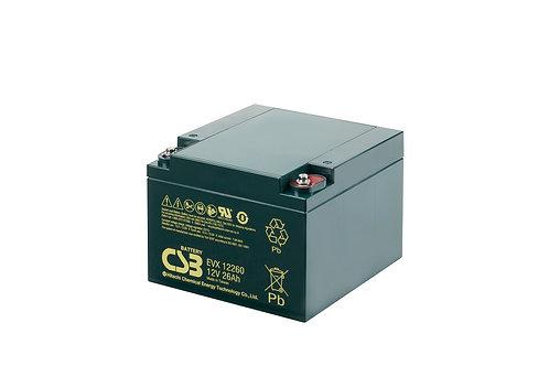 Batería Sellada CSB EVX 12V 26.0Ah