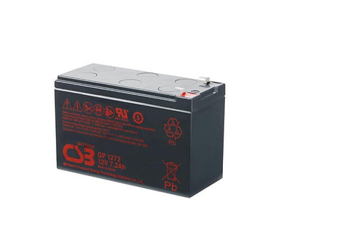 Bateria Sellada CSB 12v 7.2Ah GP1272