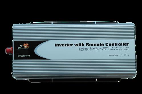 Inversor de corriente onda cuadrada 12VDC 3000W 6000W Pico
