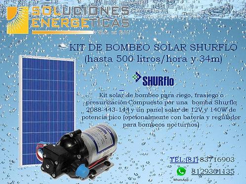 KIT BOMBEO SOLAR 500 LTS