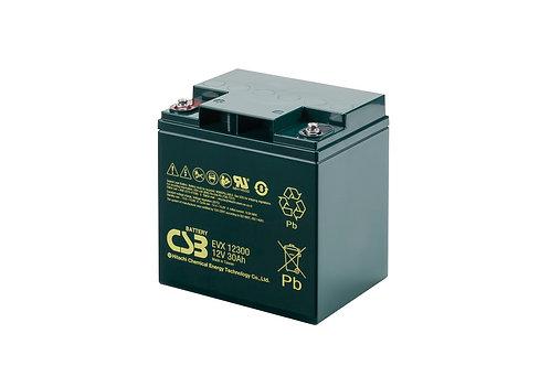 Batería Sellada CSB EVX 12V 30.0Ah