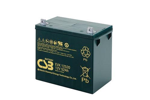 Batería Sellada CSB EVX 12V 52.0Ah