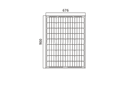 Panel Solar Perlight 80 watts