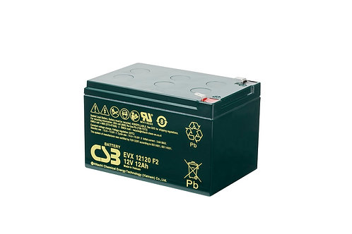 Batería Sellada CSB EVX 12V 12.0Ah