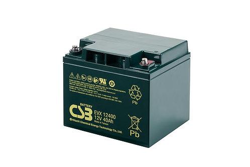 Batería Sellada CSB EVX 12V 40.0Ah