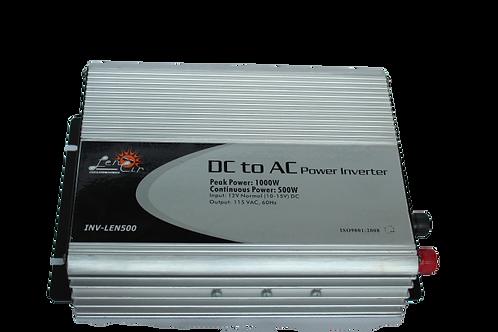Inversor de corriente onda cuadrada 12VDC 500W 1000W Pico