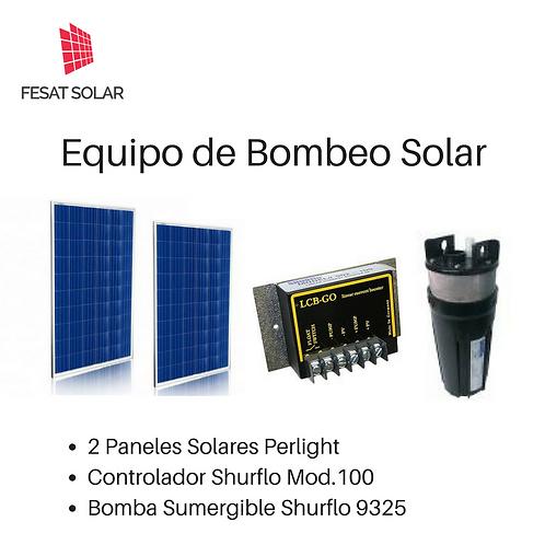 Equipo de Bombeo Solar