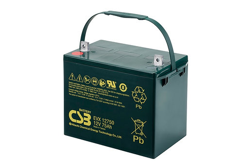 Batería Sellada CSB EVX 12V 75.0Ah