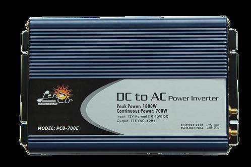 Inversor de corriente onda cuadrada 12VDC 700W 1800W Pico