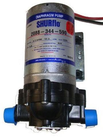 Bomba Agua/Químicos 12v 30PSI 3.5GPM 2088-344-590