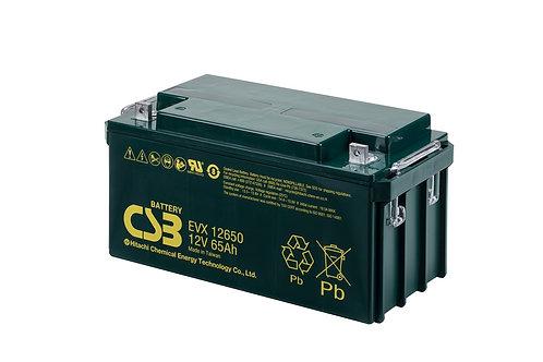 Batería Sellada CSB EVX 12V 65.0Ah