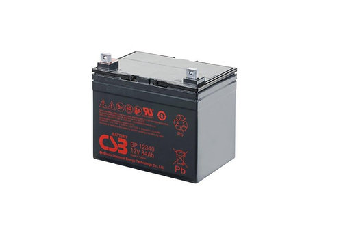 Bateria Sellada CSB 12v 34Ah GP12340