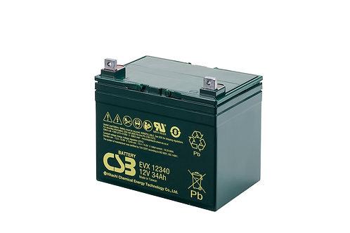 Batería Sellada CSB EVX 12V 34.0Ah
