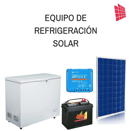 equipo de refrigeracion solar