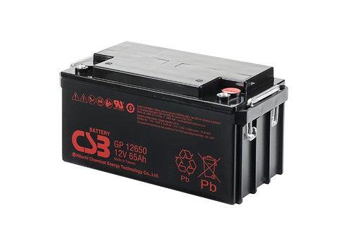 Bateria Sellada CSB 12v 65Ah GP12650