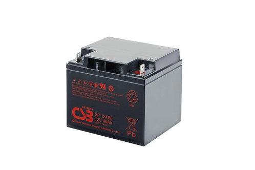 Bateria Sellada CSB 12v 40Ah GP12400