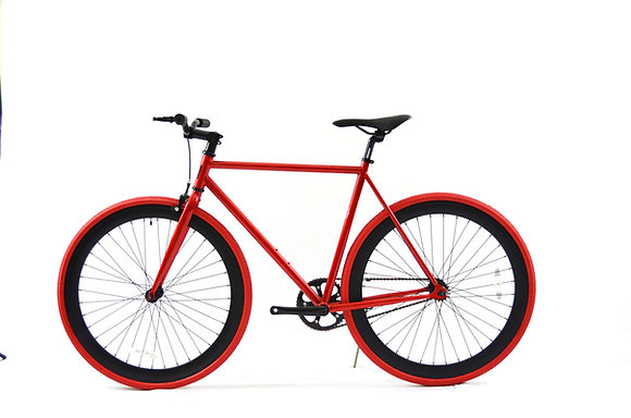 Red/Black Fixie