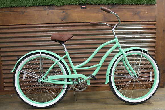 "26"" Mint Green Ladies Cruiser"