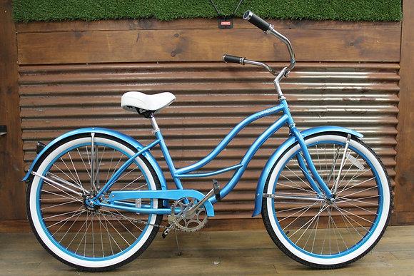 """26"""" Blue Ladies Cruiser"""
