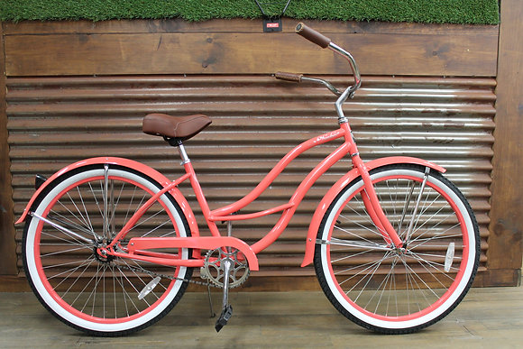 "26"" Coral Ladies Cruiser"