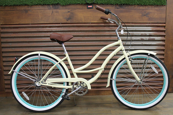 "26"" Vanilla 3 Speed Ladies Cruiser"